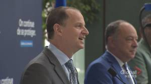 Quebec government giving residents a million reasons to get vaccinated (01:59)