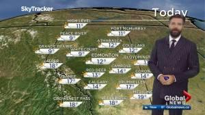 Edmonton afternoon weather forecast: Monday, September 14, 2020
