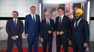 Federal Election 2019: Party leaders face off in first French-language debate