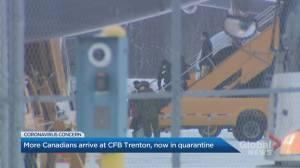185 coronavirus evacuees quarantined as 2nd chartered flight arrives at CFB Trenton