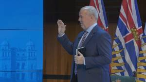 B.C's new NDP Cabinet sworn in (01:58)