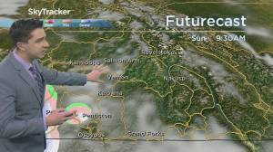 Kelowna Weather Forecast: December 4 (03:21)