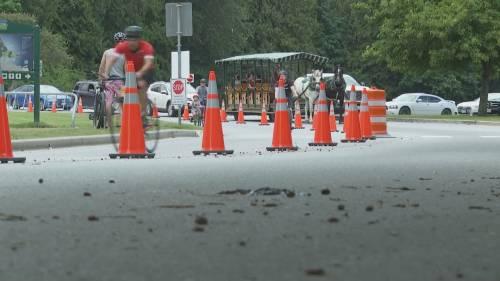 Traffic safety concerns in Stanley Park | Watch News Videos Online