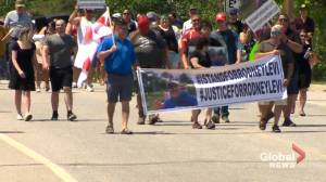 Healing walks held in several New Brunswick cities