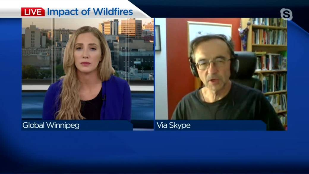 Click to play video: 'Science of wildland fires'