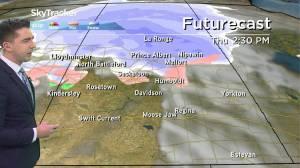 Roller-coaster temperature ride: Dec. 16 Saskatchewan weather outlook (02:42)