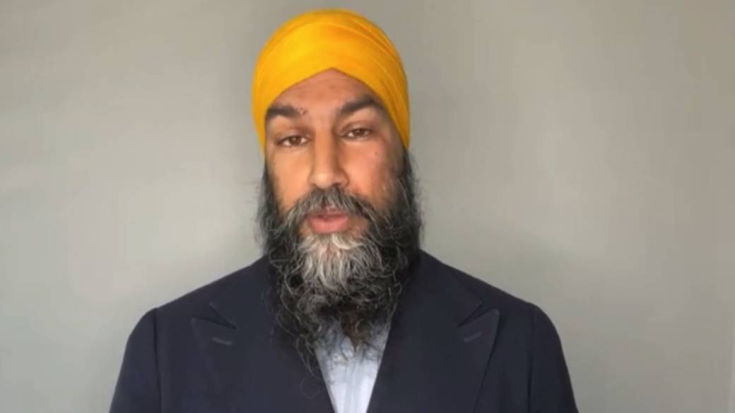 Click to play video: 'Singh demands concrete action to end racism'