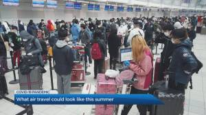 Where can Canadians fly internationally during the COVID-19 outbreak?