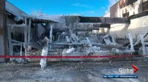 Businesses destroyed in Whitecourt fire