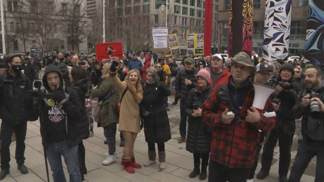 Click to play video: 'Concerns about spread of misinformation at Vancouver 'Freedom Rally''