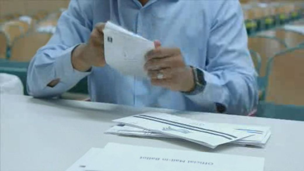 Click to play video 'Pennsylvania's new early voting system proves popular'