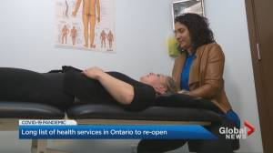 Coronavirus: Ontario's ministry of health allows non-essential health care services to gradually resume operation