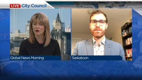 Saskatoon councillor Zach Jeffries | Watch News Videos Online