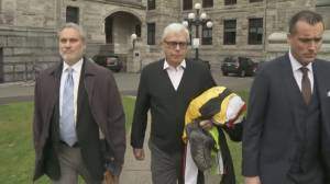 Former B.C. legislature clerk Craig James charged with fraud (04:33)
