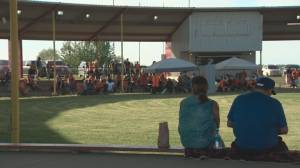 Maskwacis honours lives of 215 children found at residential school site (02:08)