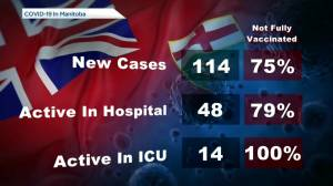 Manitoba's COVID-19/vaccine numbers – September 29 (00:46)