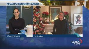 Decorating ideas for virtual holiday celebrations (04:19)