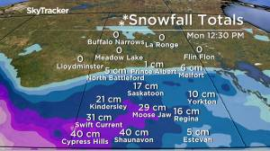 Up to 40 cm snow, 60 km/h gusts as wintry blast ushers out September