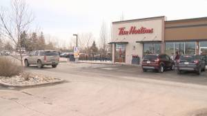 Camera found in Tim Hortons washroom, man charged with voyeurism