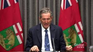 Pallister commits to recommendations laid out in Wall Report (00:33)