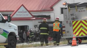 Fire quickly contained at Central Smith Creamery north of Peterborough