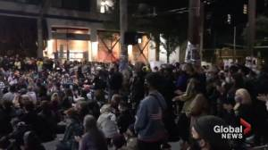 Seattle protesters gather in occupied police-free 'Capitol Hill Autonomous Zone'