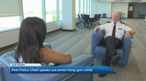 Peel's chief of police speaks out on gun violence