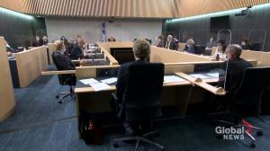 English school boards take stand at Bill 96 hearings (02:07)