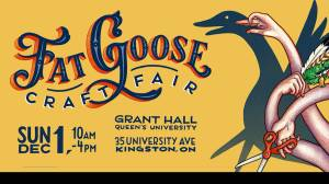 A preview of the 11th Annual Fat Goose Craft Fair