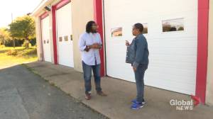 Canada's first all-Black volunteer fire department hall sold back to African Nova Scotian community (02:10)
