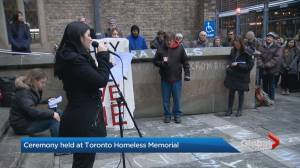 Petition on homelessness presented to Toronto mayor's office has 25K signatures