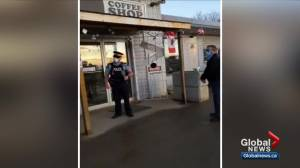 Whistle Stop Café closed by AHS, RCMP after flouting COVID-19 rules for months in central Alberta (02:03)