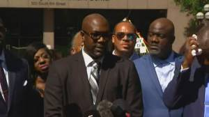 George Floyd's brother reacts to Derek Chauvin sentencing, pays tribute to Black Americans killed by police (04:22)