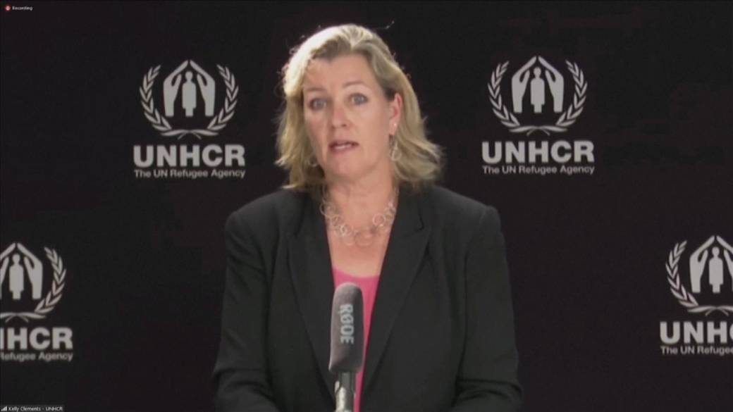 Click to play video: 'Afghanistan crisis: UNHCR says half a million Afghans could flee across borders'