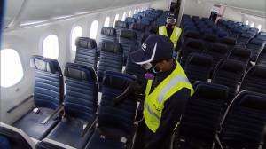 Middle seats being sold again on WestJet, Air Canada