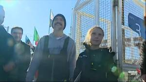 Climate activist Greta Thunberg lands in Lisbon ahead of COP25 climate summit