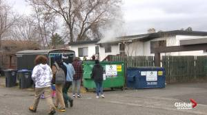 Morning house fire at Kelowna fourplex