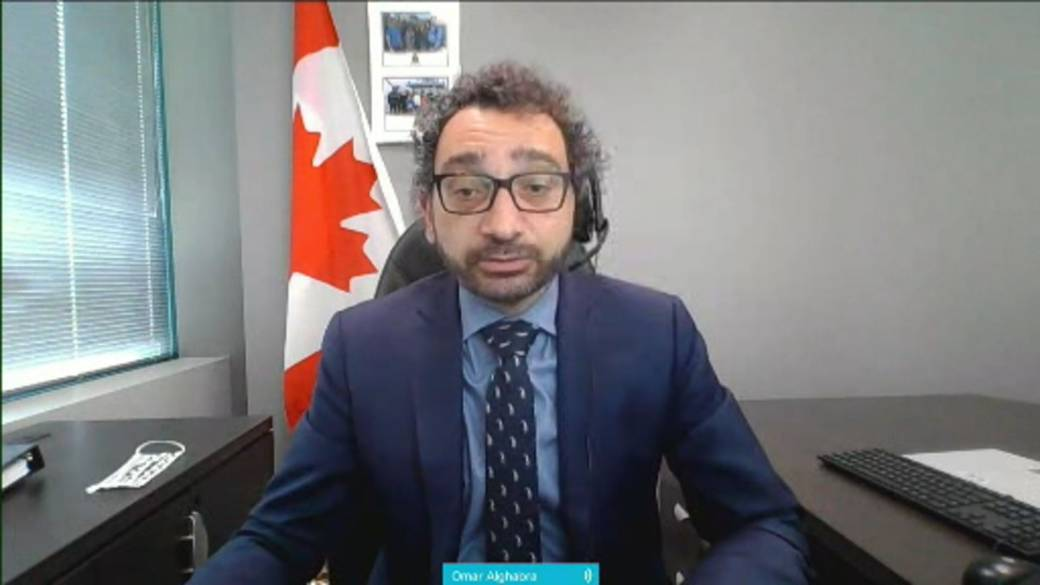 Click to play video: 'Feds extend travel ban on India and Pakistan through June 21st'