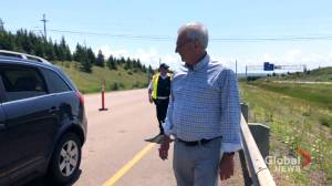 Essential service lane created at N.B. border
