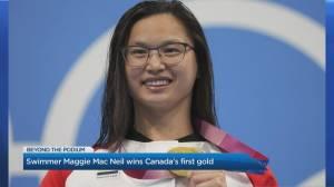 Olympic swimmer Maggie Mac Neil talks making waves in Tokyo (04:38)