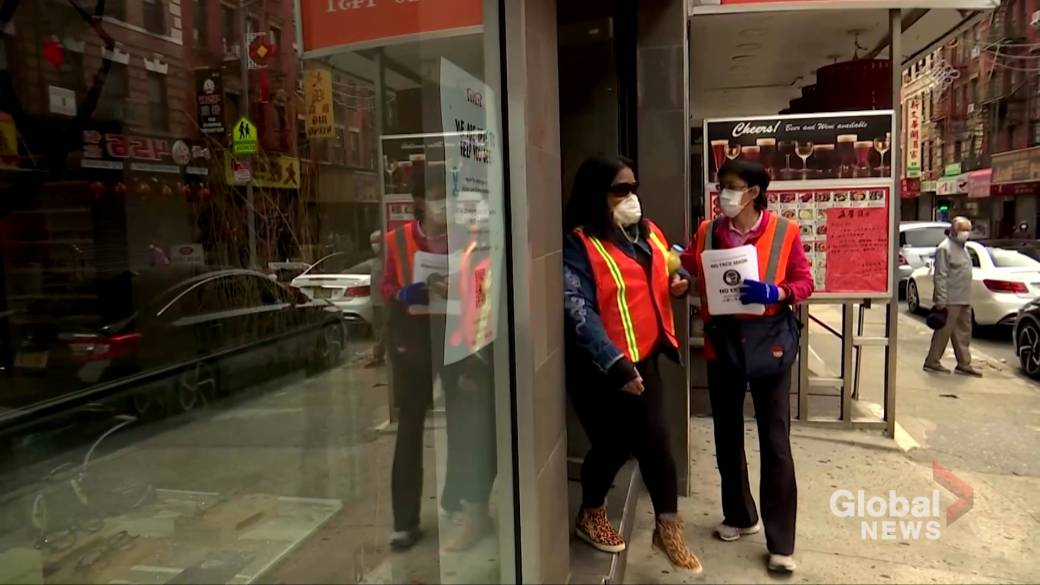 Click to play video 'Coronavirus outbreak: Facing blame for virus, Asian-Americans fight back'