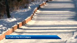 New ice trails and ice bikes popular with Calgarians (02:34)