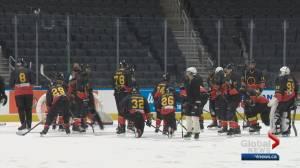 Australian hockey team gets a taste of Canada