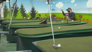 Regina-made game allows players to golf with robots (03:33)