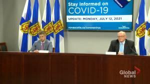 Nova Scotia entering Phase 4 of COVID-19 reopening plan (01:58)