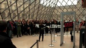 Latest strikes in Paris block Louvre, leaving some tourists in uproar