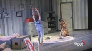 World premiere of Virginia Wolf at Geordie Theatre (04:23)