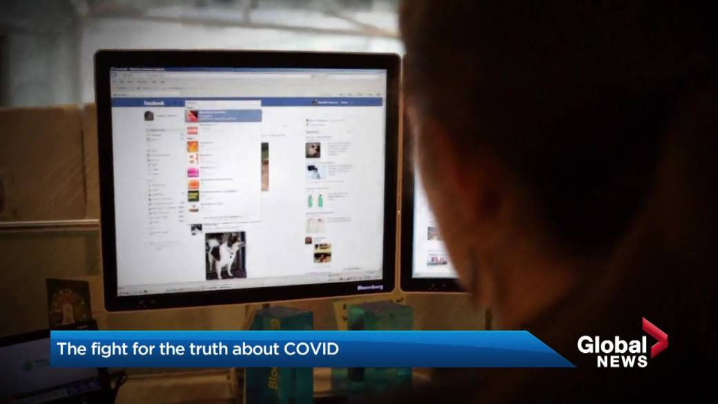 Click to play video: 'Busting myths and misinformation: the fight for the truth about COVID-19'
