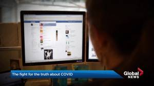 Busting myths and misinformation: the fight for the truth about COVID-19 (01:56)