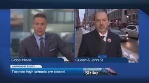 Toronto high schools close as job action escalates